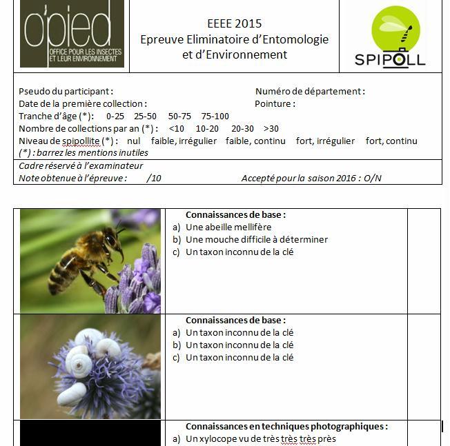 """Les 2èmes Rencontres du Spipoll : le compte rendu """"officiel"""" PhotoQuestionnaire"""